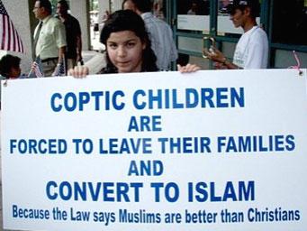 A Coptic child