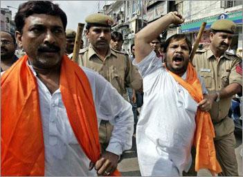 Sangh Parivar activists