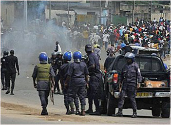 Violence in Ivory Coast