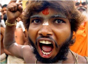A Hindu activist