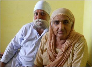 Kulbant Singh and Kaldeep Kaur