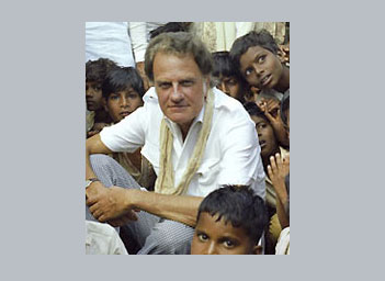 Billy Graham in India