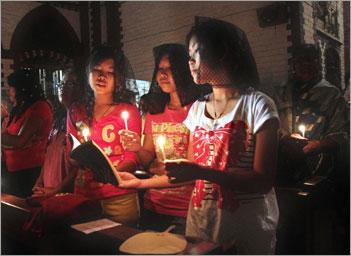 Burmese Christians