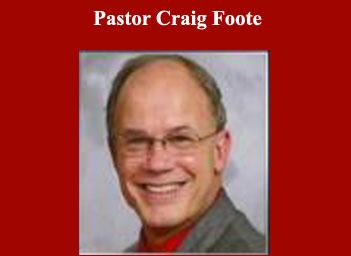 Pastor Craig Foote