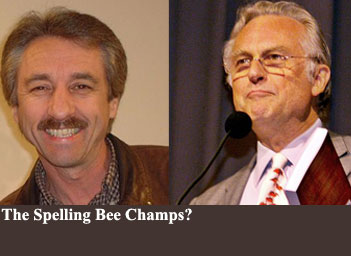 Ray Comfort and Richard Dawkins