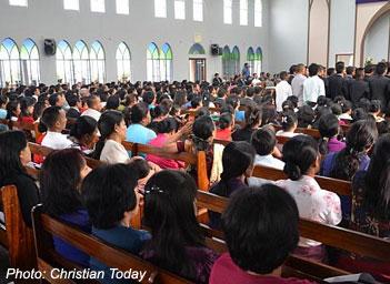 Mizoram church